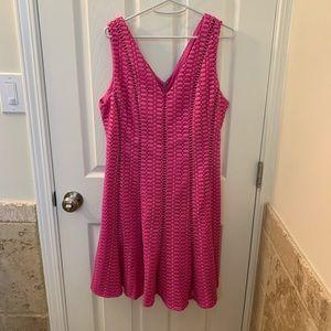NWT J Crew hot pink dress